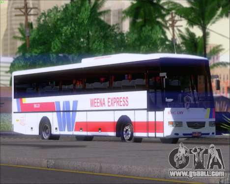 Nissan Diesel UD WEENA EXPRESS ERIC LXV for GTA San Andreas left view