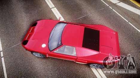 Vapid Bullet 2015 Facelift for GTA 4 right view