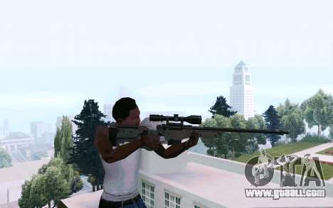 AWP L96 for GTA San Andreas third screenshot