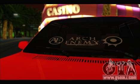 Tofas Dogan SLX Metalist (Arch Enemy) for GTA San Andreas