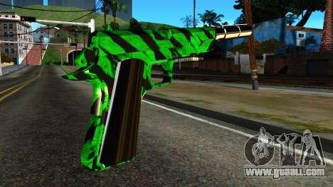 New Silenced Pistol for GTA San Andreas second screenshot