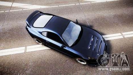 Toyota Supra Tuned for GTA 4 right view