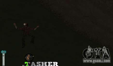 C-HUD Tasher for GTA San Andreas third screenshot
