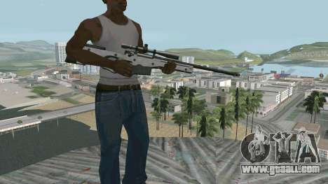 Metal AWP L96А1 for GTA San Andreas second screenshot