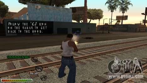C-HUD Wonderful for GTA San Andreas third screenshot