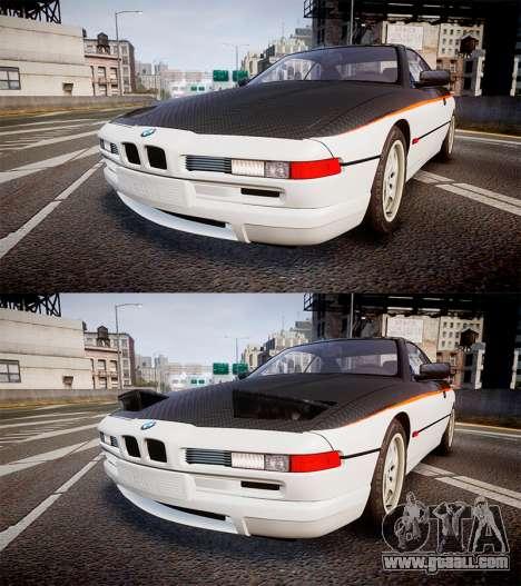 BMW E31 850CSi 1995 [EPM] Carbon for GTA 4 side view