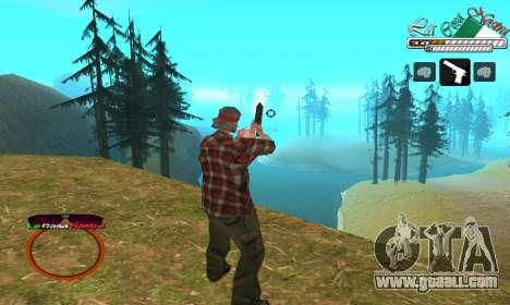 C-HUD LCN for GTA San Andreas second screenshot