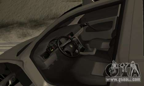 Skoda Octavia Winter Mode for GTA San Andreas engine