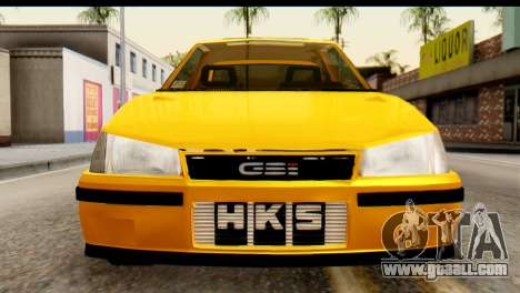 Opel Kadett GSI Drag 2015 for GTA San Andreas right view