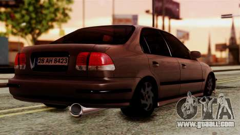 Honda Civic 1.6 for GTA San Andreas left view