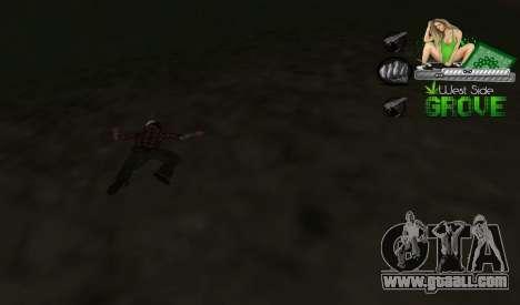 C-HUD Groove St. Family for GTA San Andreas third screenshot
