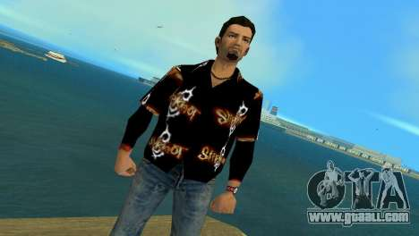 Slipknot 666 Shirt for GTA Vice City