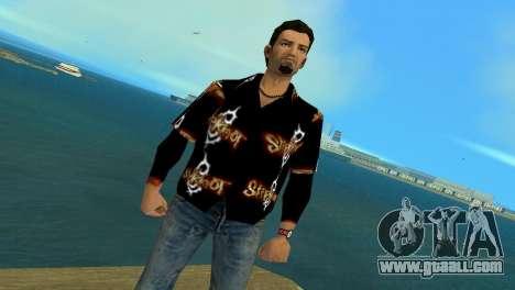 Slipknot 666 Shirt for GTA Vice City