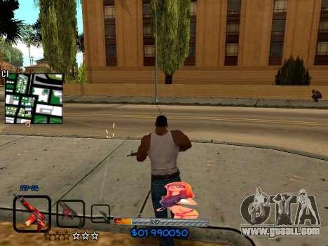 C-HUD by HudMud for GTA San Andreas third screenshot