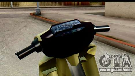 Yamaha F1ZR Stock for GTA San Andreas right view