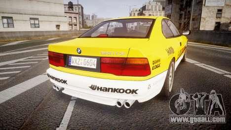BMW E31 850CSi 1995 [EPM] E-Post Brief for GTA 4 back left view
