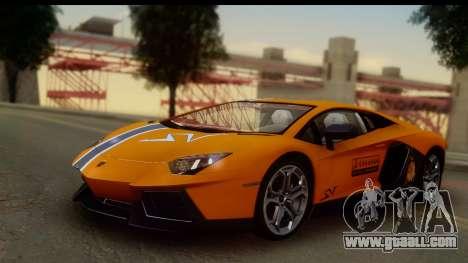 Lamborghini Aventador for GTA San Andreas