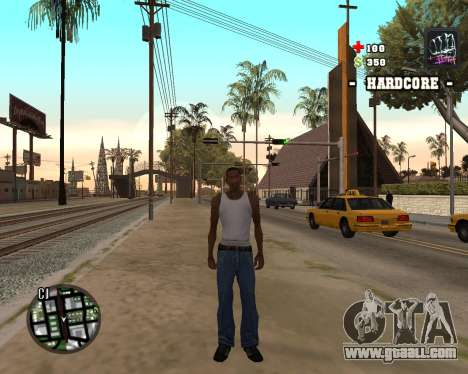 C-HUD Hardcore for GTA San Andreas