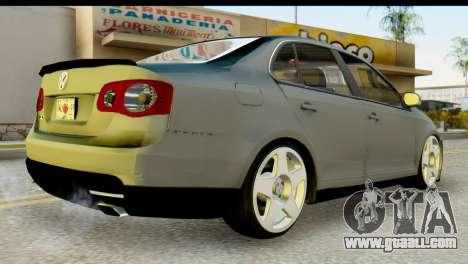 Volkswagen Bora GLI 2010 Tuned for GTA San Andreas left view