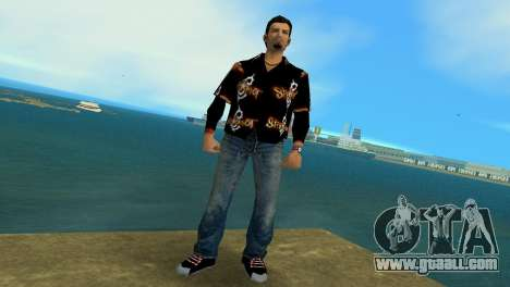Slipknot 666 Shirt for GTA Vice City second screenshot