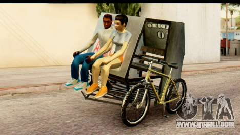 Pedicab Philippines for GTA San Andreas