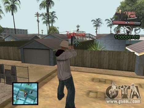 C-Hud Yakuza II for GTA San Andreas third screenshot