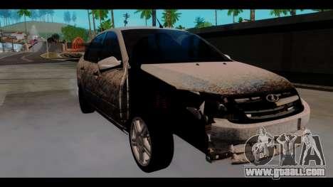 Lada Granta for GTA San Andreas right view