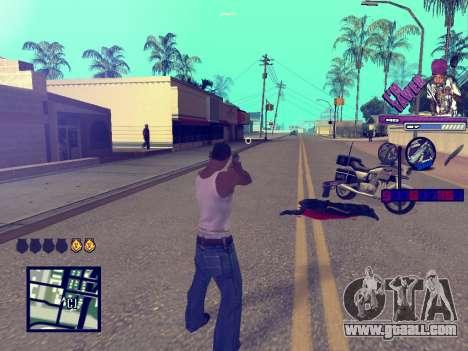 C-HUD TAWER for GTA San Andreas forth screenshot