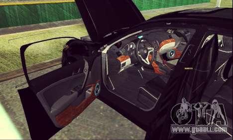Honda Accord Type S 2008 LT for GTA San Andreas inner view