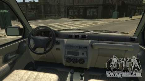 UAZ Patriot Pickup v.2.0 for GTA 4 back view