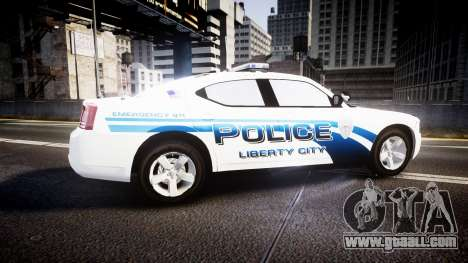 Dodge Charger 2006 LCPD [ELS] for GTA 4 left view