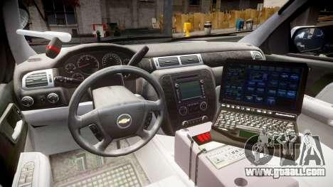 Chevrolet Tahoe 2010 Police Alderney [ELS] for GTA 4