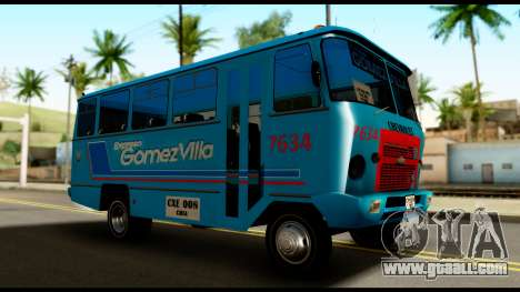 Chevrolet Bus for GTA San Andreas right view