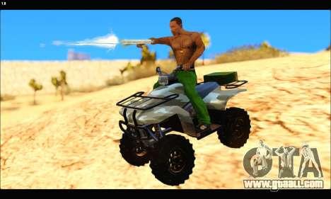 ATV Army Edition v.3 for GTA San Andreas