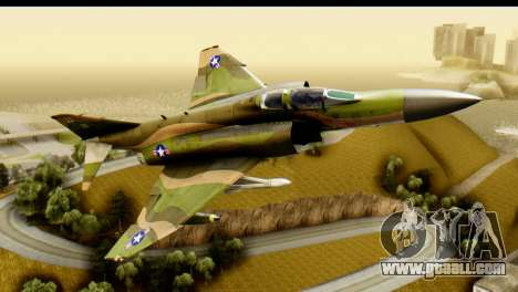 F-4 Vietnam War Camo for GTA San Andreas left view
