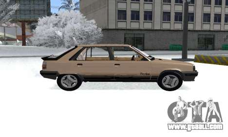 Renault 11 Turbo Phase I 1984 for GTA San Andreas back left view
