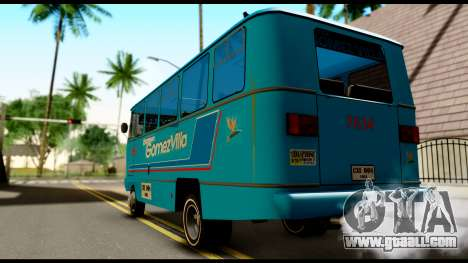 Chevrolet Bus for GTA San Andreas left view