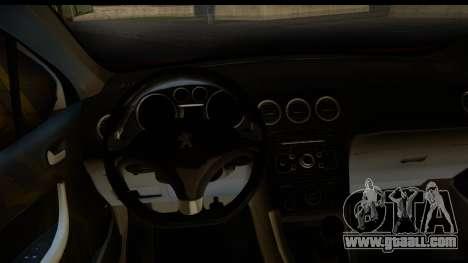Peugeot 308 ENS Tuning for GTA San Andreas back view