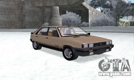 Renault 11 Turbo Phase I 1984 for GTA San Andreas