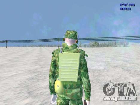 The airborne radio operator for GTA San Andreas third screenshot