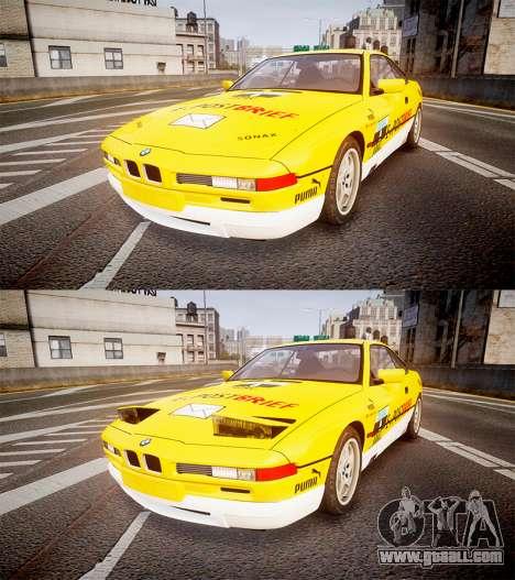 BMW E31 850CSi 1995 [EPM] E-Post Brief for GTA 4 side view