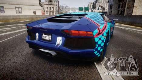 Lamborghini Aventador 2012 [EPM] Miku 3 for GTA 4 back left view