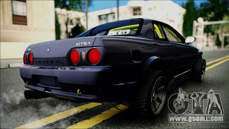 Nissan Skyline GT-S R32 for GTA San Andreas back left view