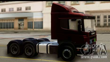 Scania P340 for GTA San Andreas right view