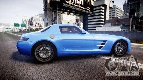 Mersedes-Benz SLS AMG 2010 for GTA 4 left view