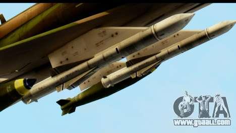 F-4 Vietnam War Camo for GTA San Andreas inner view