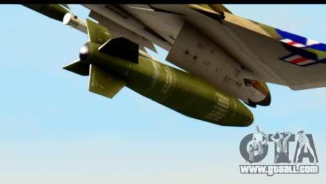 F-4 Vietnam War Camo for GTA San Andreas right view
