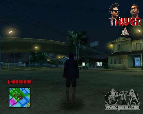 C-HUD Tawer By Flocky for GTA San Andreas third screenshot