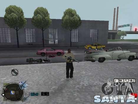 C-HUD Santa for GTA San Andreas second screenshot