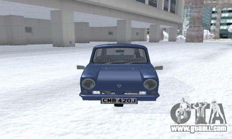 Reliant Supervan III for GTA San Andreas left view